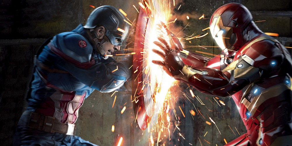 Photo of Marvel Stuntman Shares BTS Video of Captain America Vs Iron Man Fight From 'Civil War'