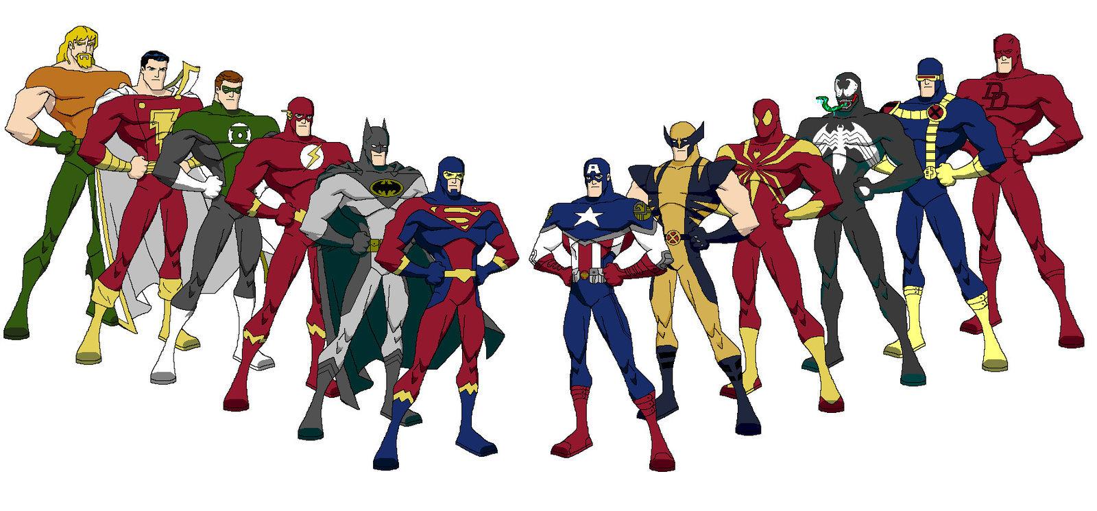 superhero rivalries