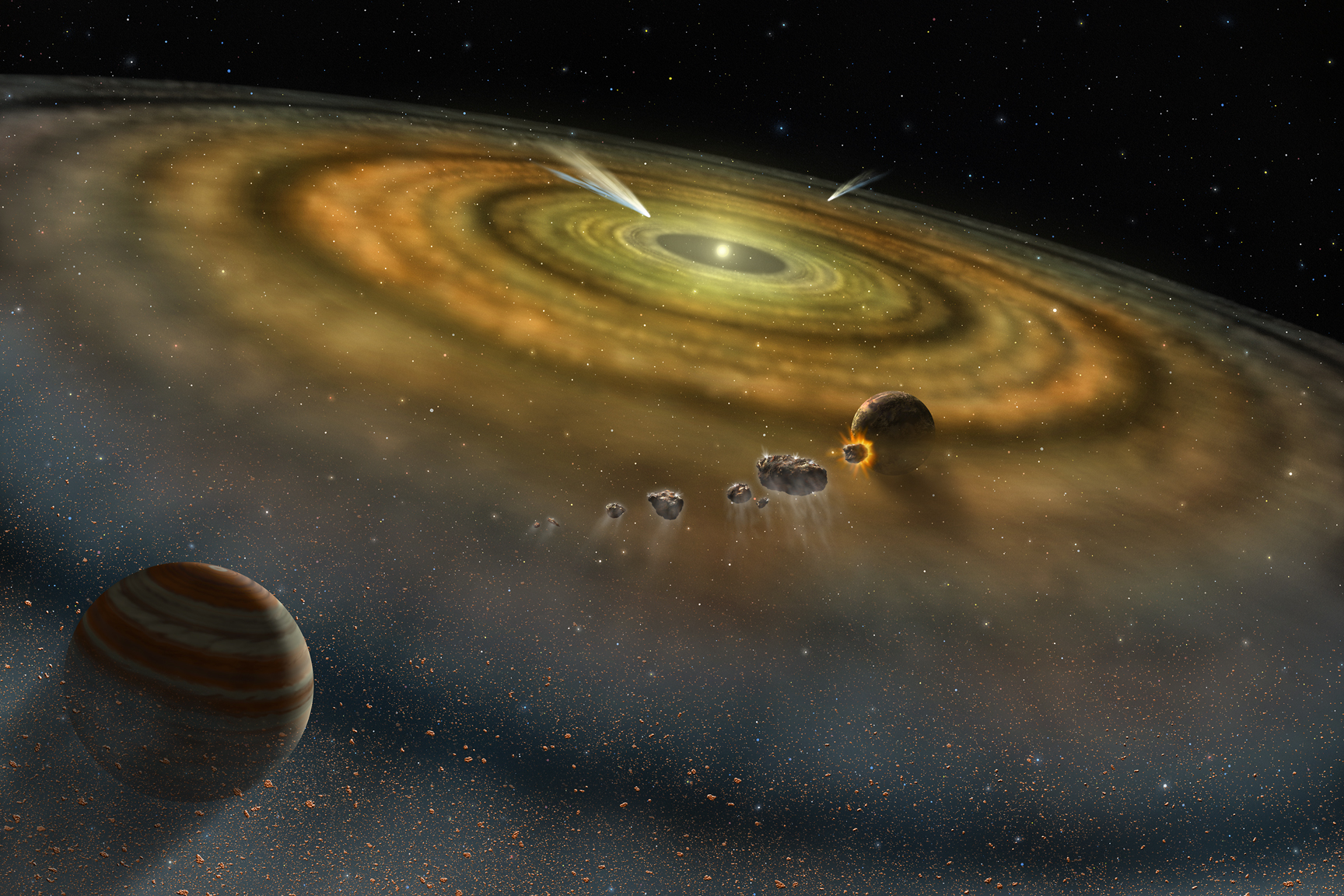 Photo of Solar System Origin- Still A Mystery?