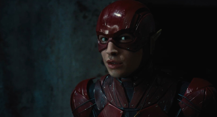 Ezra Miller Flashpoint Movie