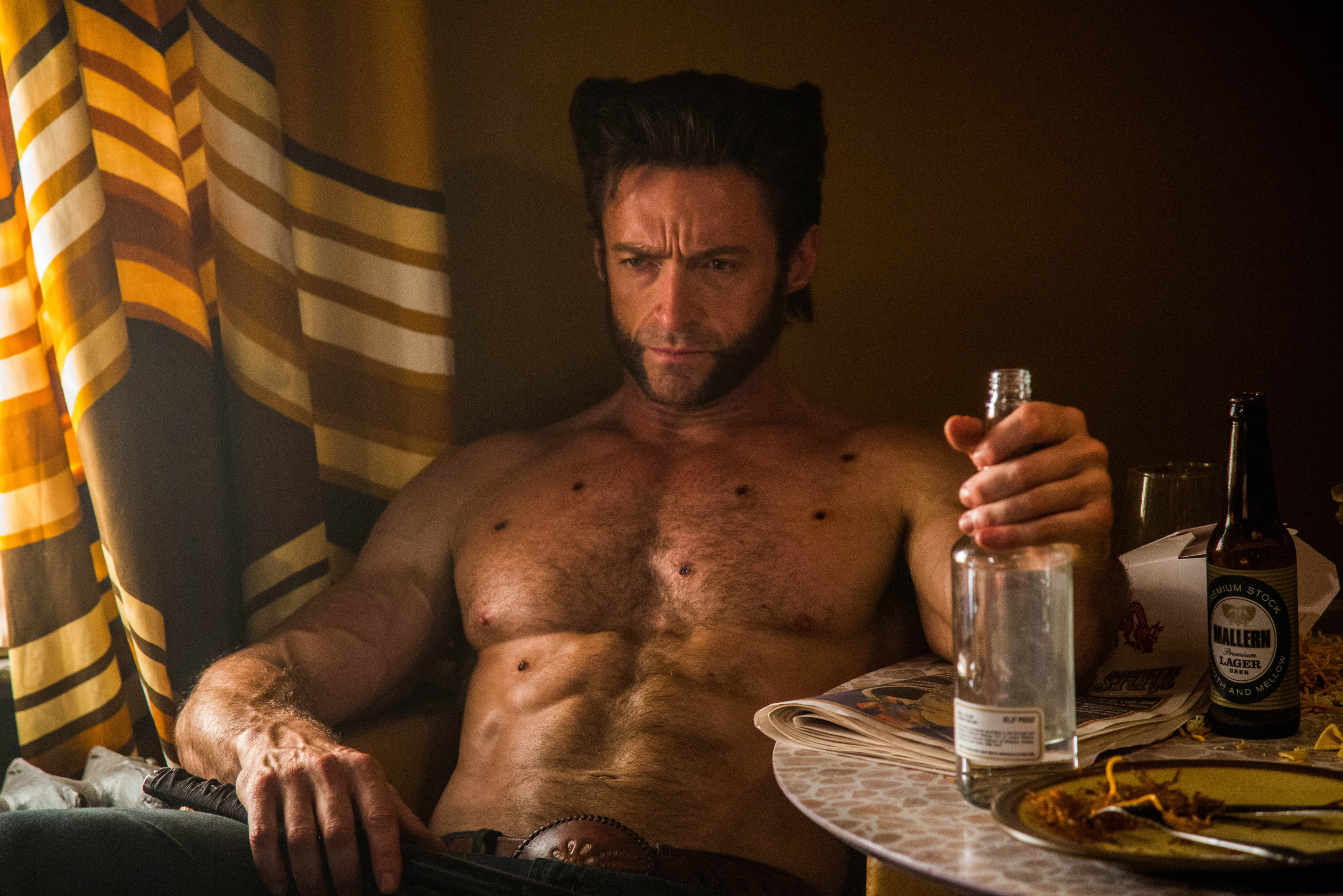 DF-07871 Hugh Jackman as Logan in X-Men: Days of Future Past.