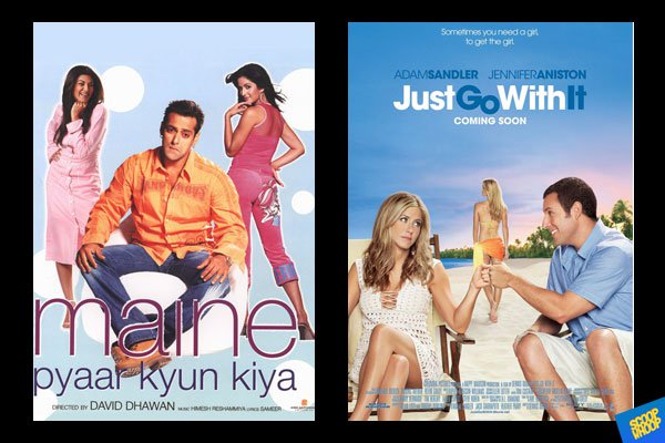 So, we have always seen Bollywood getting inspired from Hollywood movies