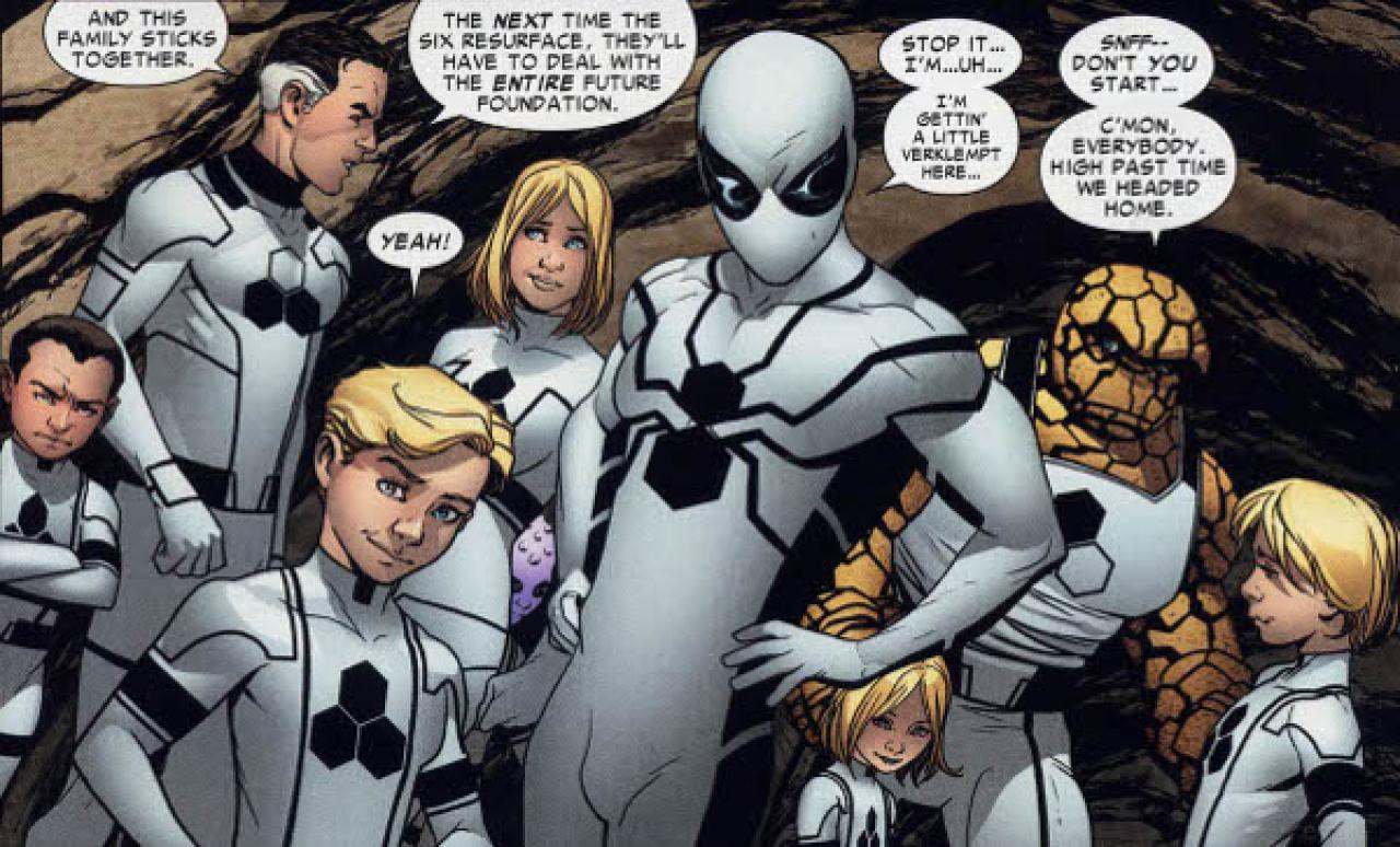 2) Future Foundation Spider-Man  sc 1 st  QuirkyByte & 12 Most Powerful Spider-Man Suits That Can Give Iron-Man Run For His ...