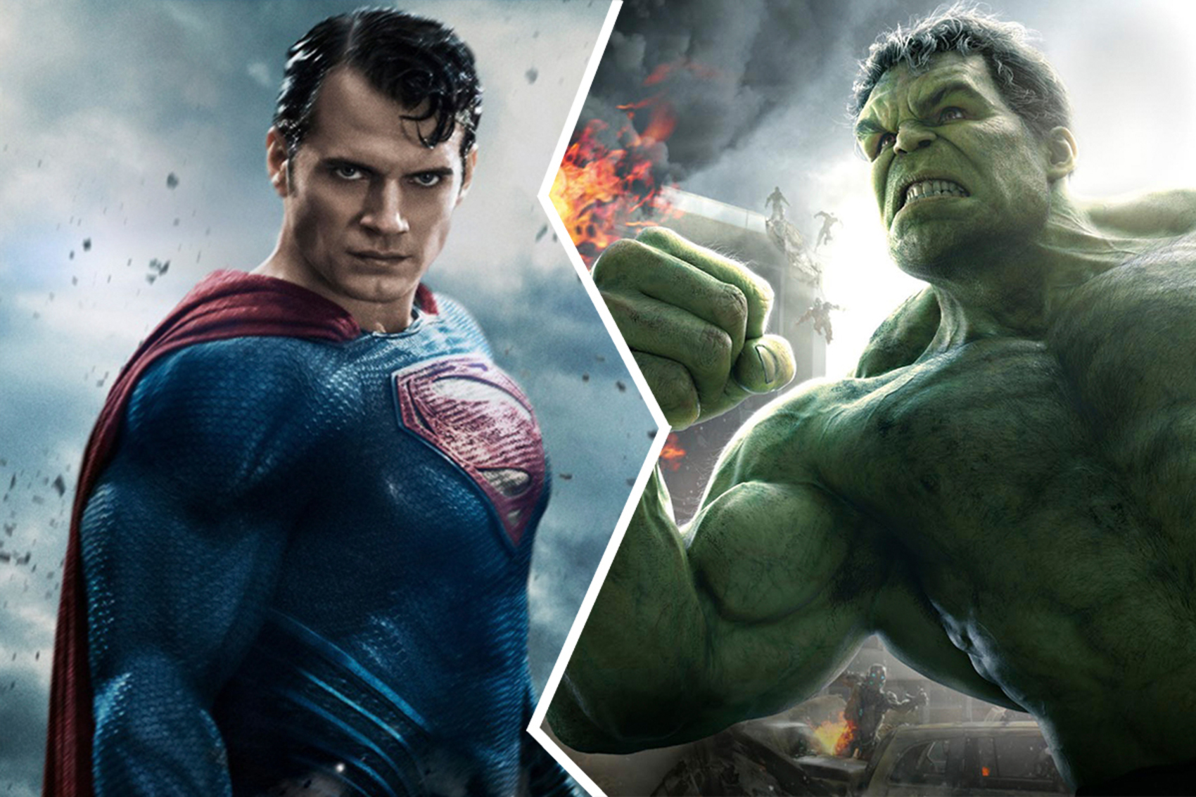 8 marvel superheroes who can give hard time to superman