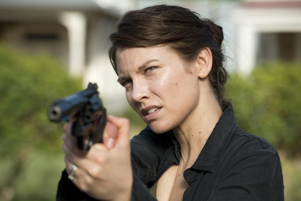 Lauren Cohan as Maggie Greene - The Walking Dead _ Season 6, Episode 2 - Photo Credit: Gene Page/AMC