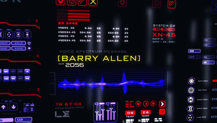 Photo of Legends of Tomorrow: Barry Allen's Message from 2056 [Decoded]