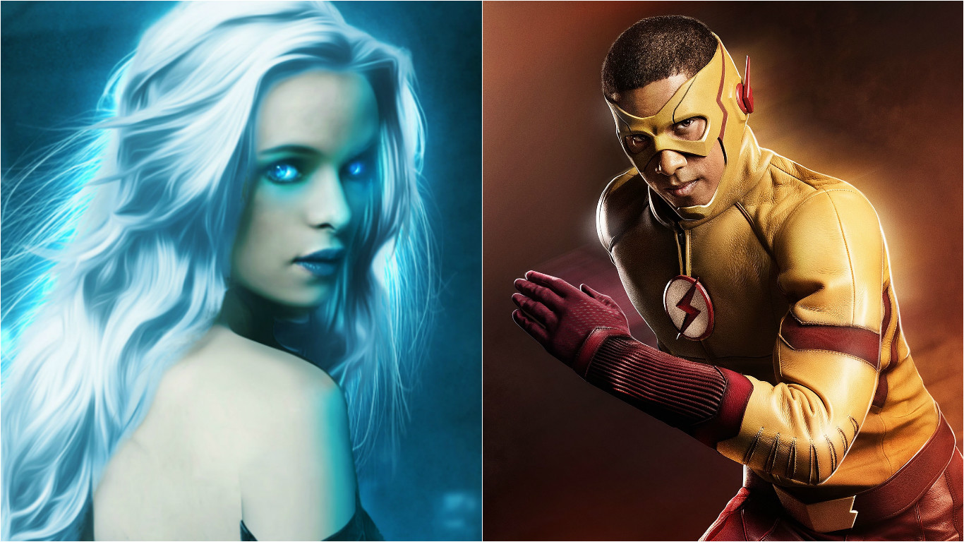 Photo of Caitlin Snow/Killer Frost v/s Wally West/Kid Flash