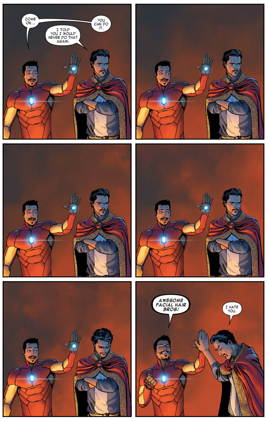 iron-man-and-doctor-strange-high-fives-2