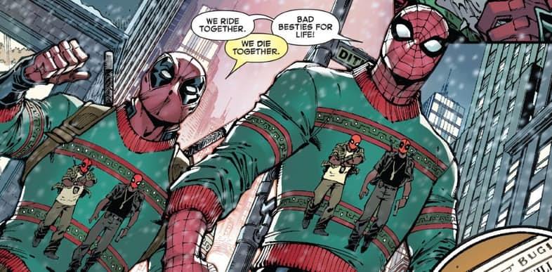 Spiderman and deadpool