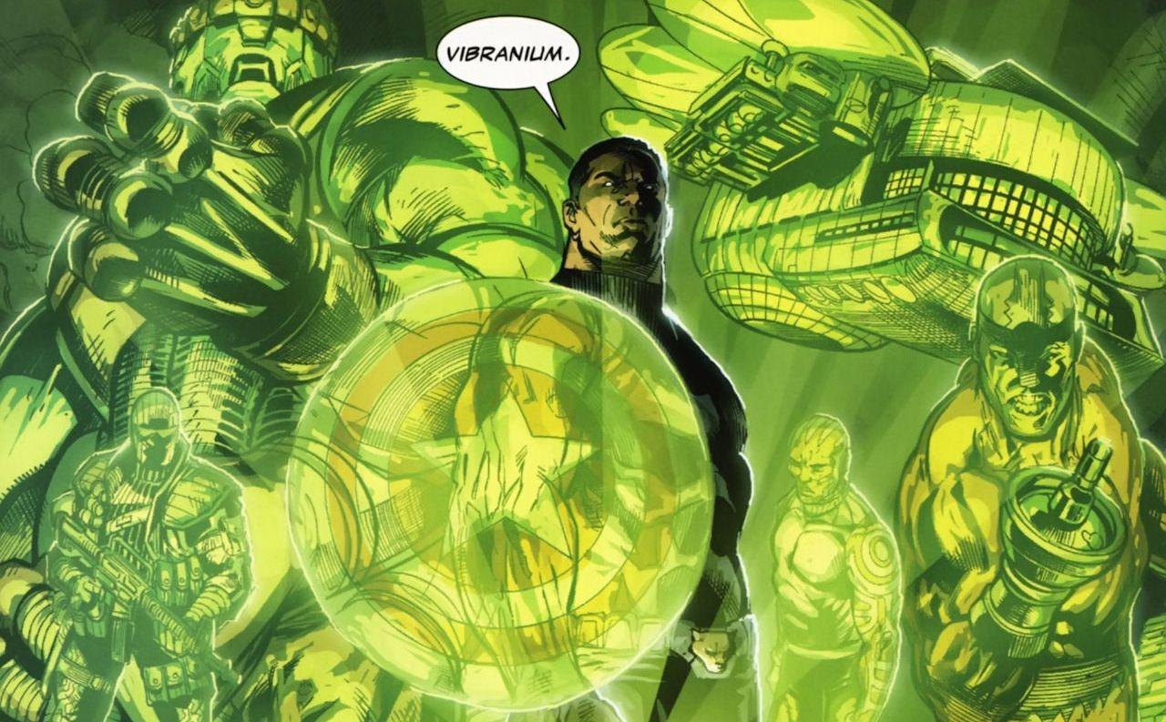 Infinity Stone Is The Secret of Vibranium's Power