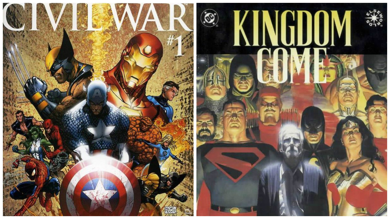4 Times Marvel And DC Copied Each Other's Comic Book Stories