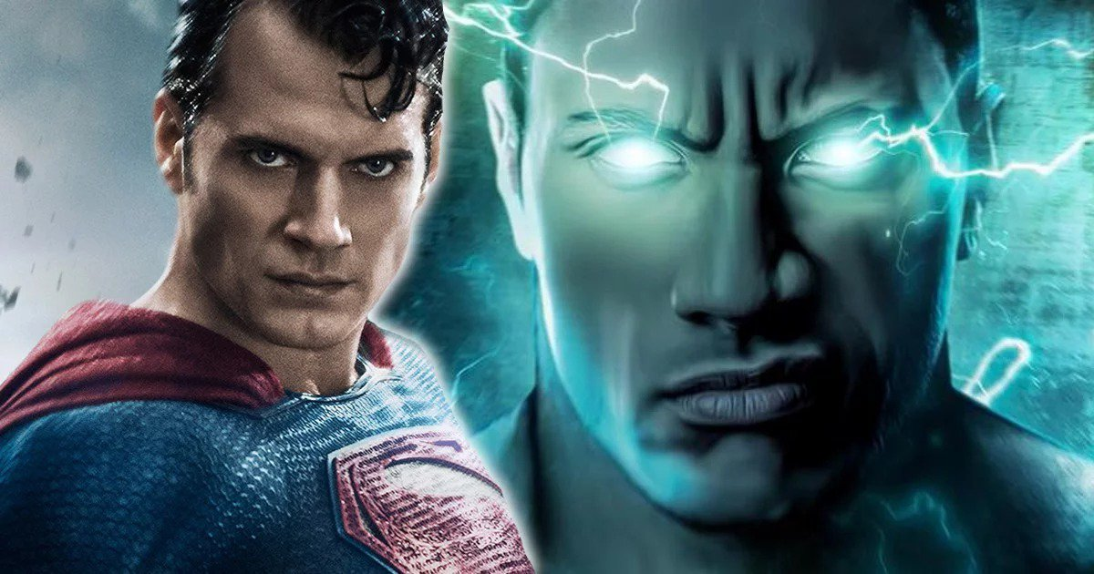 Photo of DC: Is There Superman-Black Adam Team Up in the Works?