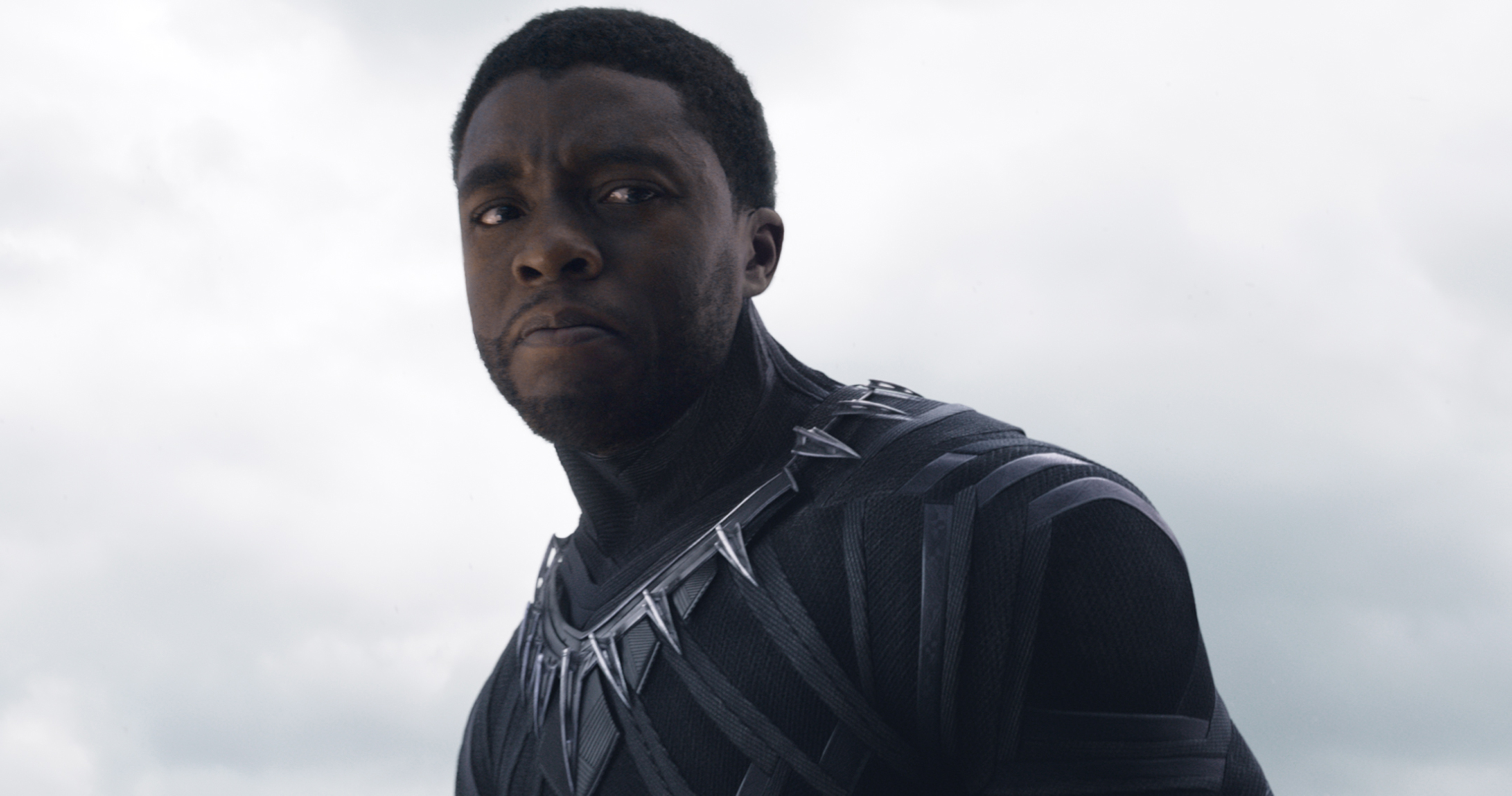 Photo of Chadwick Boseman Walks In The Costume of T'Challa and It's Heart-Warming