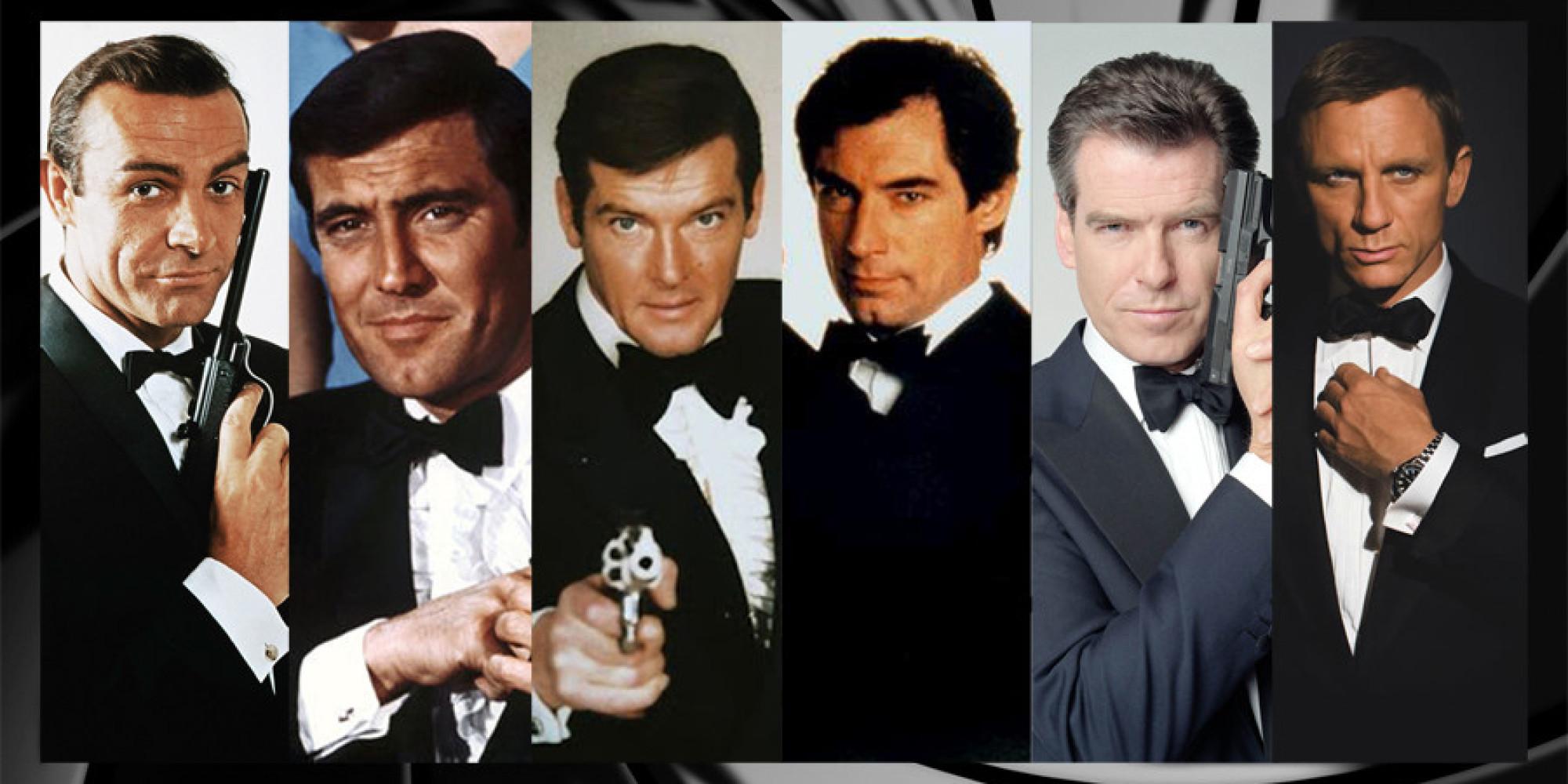James Bond Chronologie