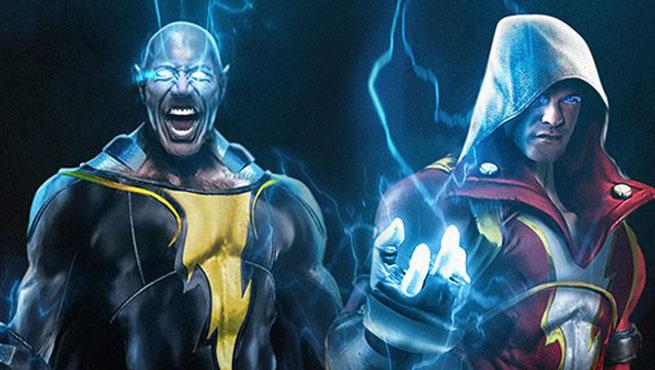 Photo of Is John Cena the Perfect Shazam to Dwayne Johnson's Black Adam?