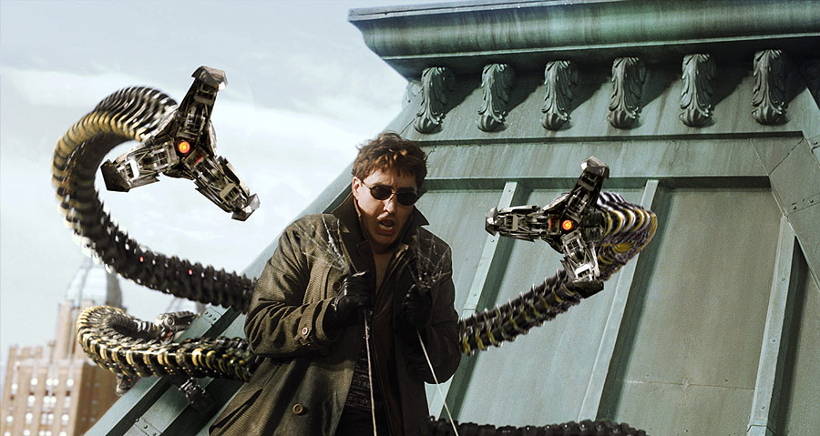 doctor octopus tentacles