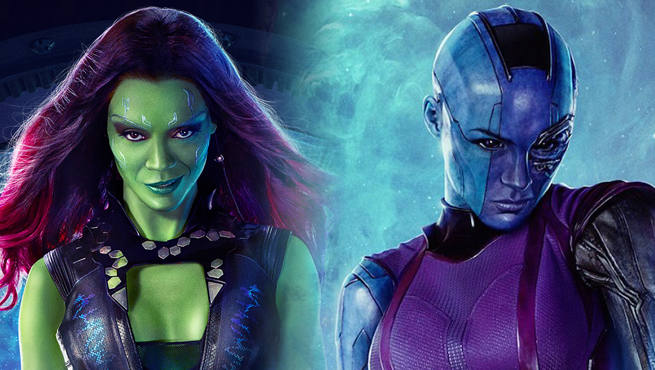 gamora and nebula can defeate thanos in avengers infinity war