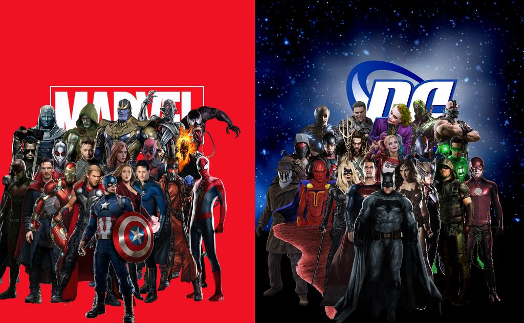 Marvel vs DC | Euro Palace Casino Blog