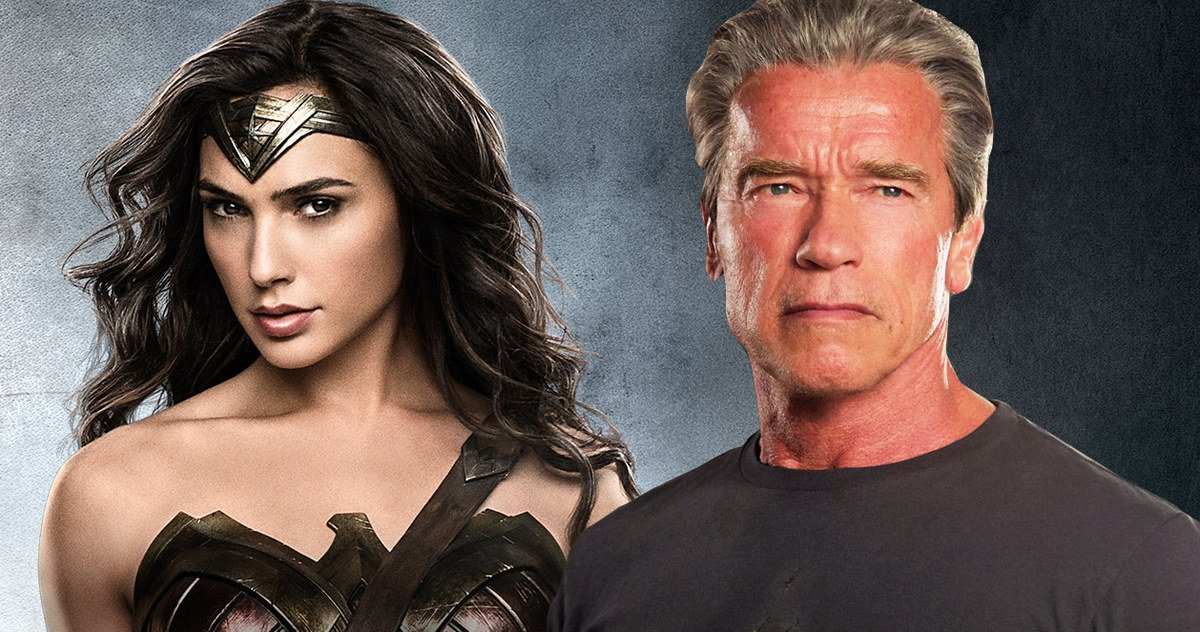 "Photo of Is ""The Terminator"" Arnold Schwarzenegger Secretly A Wonder Woman Villain?"