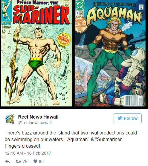 Is Marvel Also Expanding Its Cinematic Universe To The Deep Seas With Prince Namor?