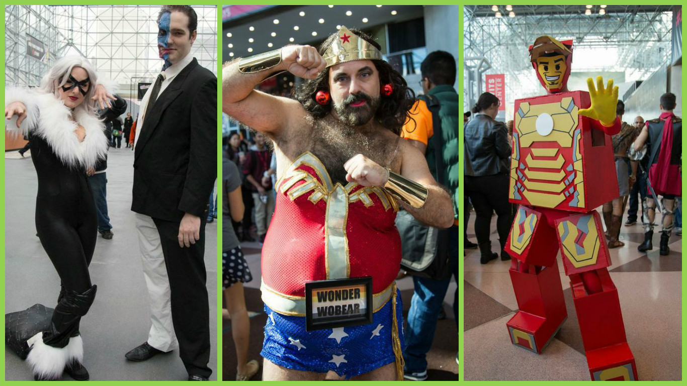 Photo of 19 Weirdest, Whackiest and WTF Costumes from Comic-Con