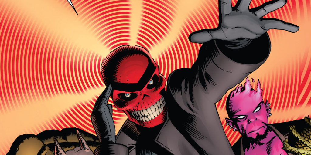 Superpowers of Red Skull