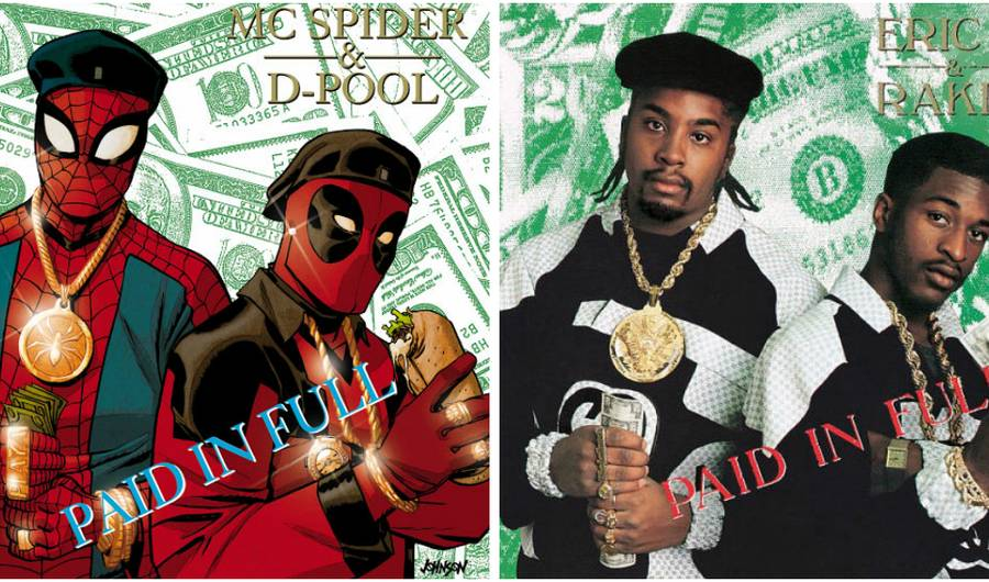 Photo of 7 Fantastic Album Covers With Marvel Heroes/ Villains