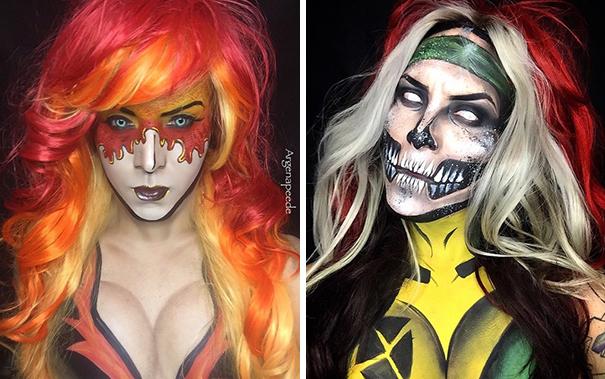 An Artist Transformed Himself Into SUPERHERO Through Insane Make-up
