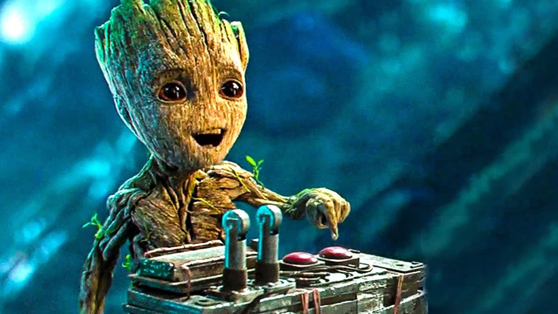 Baby Groot Wallpaper 4k Pictures To Pin On Pinterest