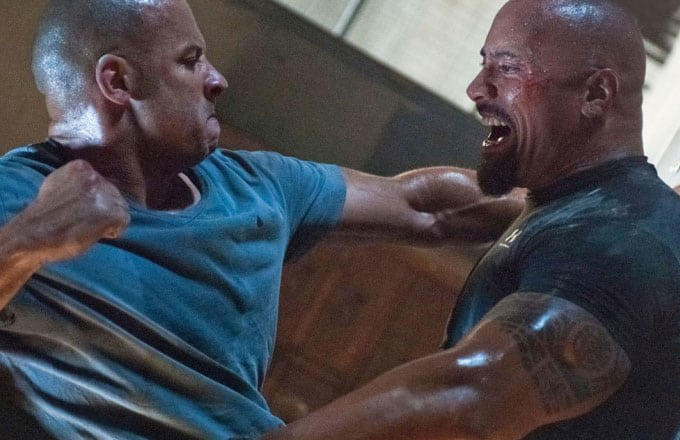 Fast 8: Vin Diesel and Dwayne Johnson Still Mad At Each Other?