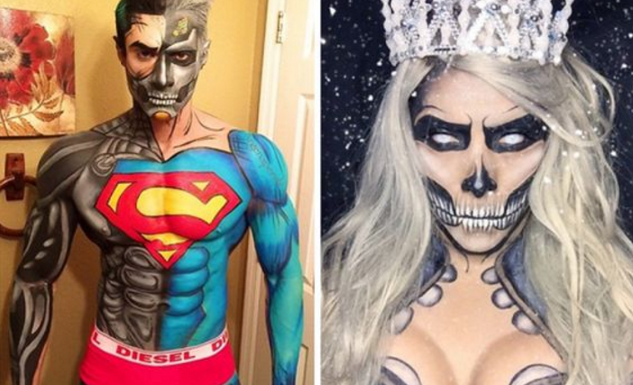 Photo of An Artist Transformed Himself Into SUPERHERO Through Insane Make-Up