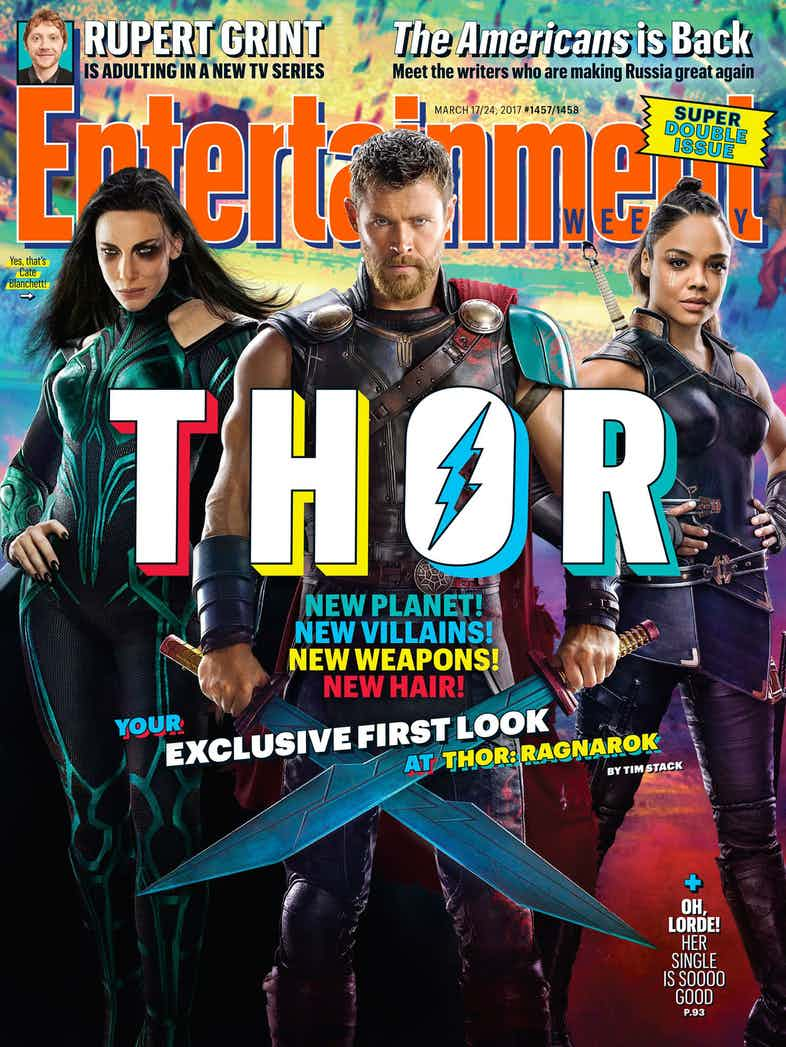 The Brand New Look Thor Will Sport In Ragnarok Has Been Revealved And It Is Stunning