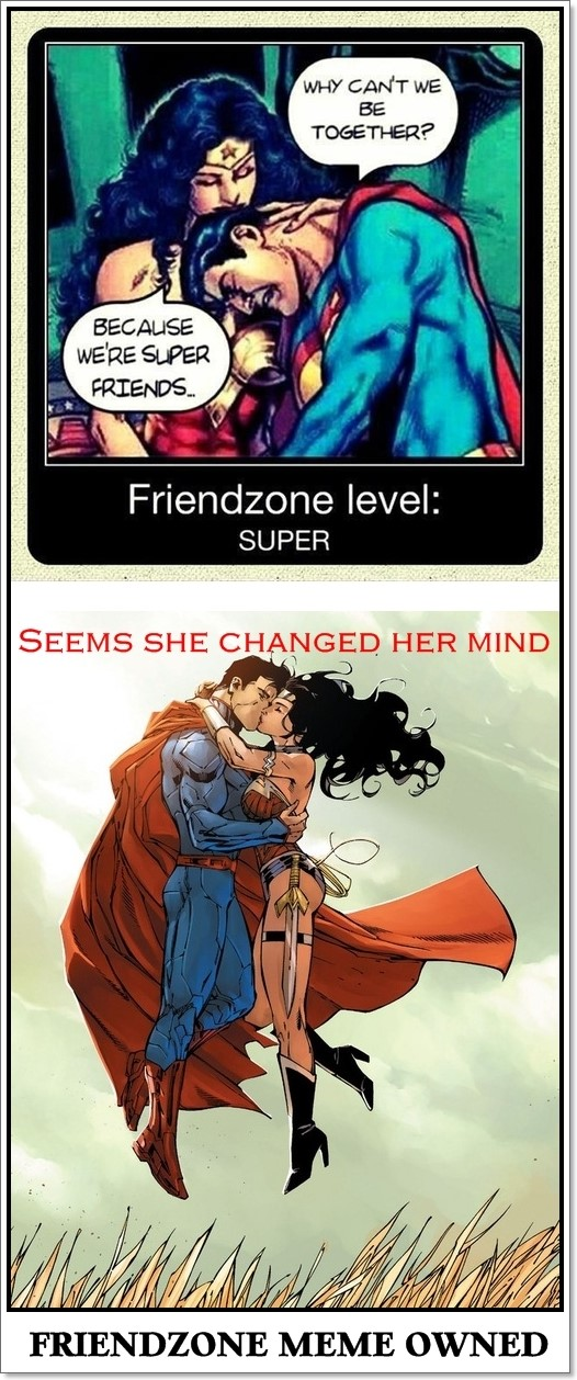 15 Memes On Superman And Wonder Woman That Make Them The ...