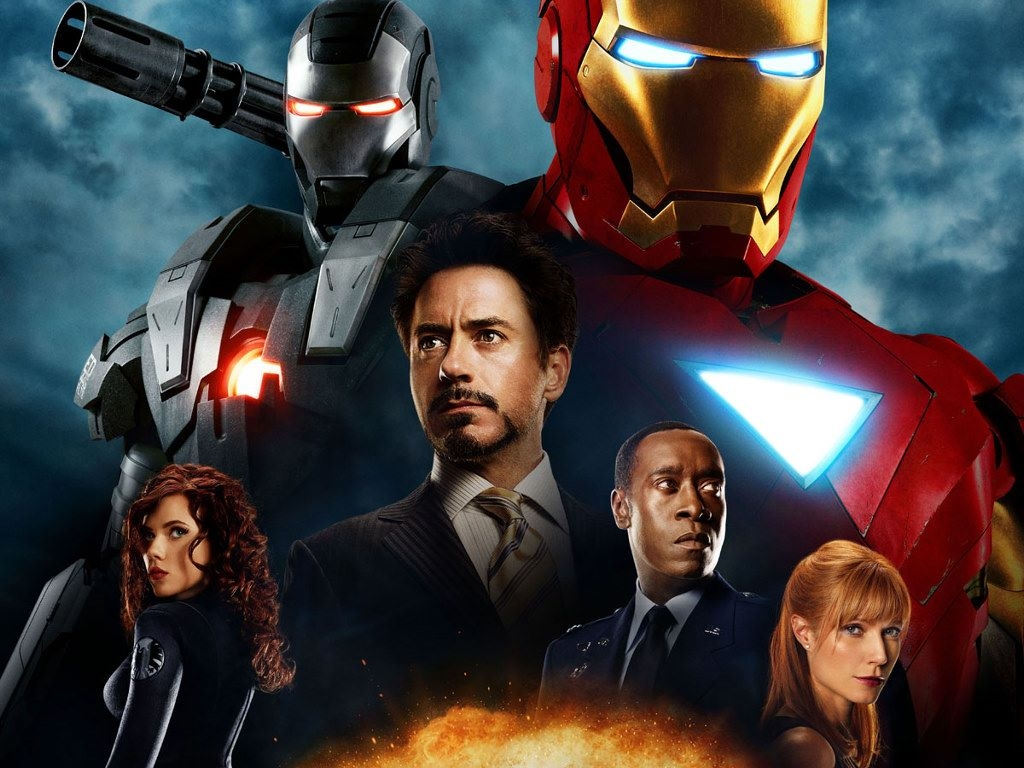 iron man franchise actors