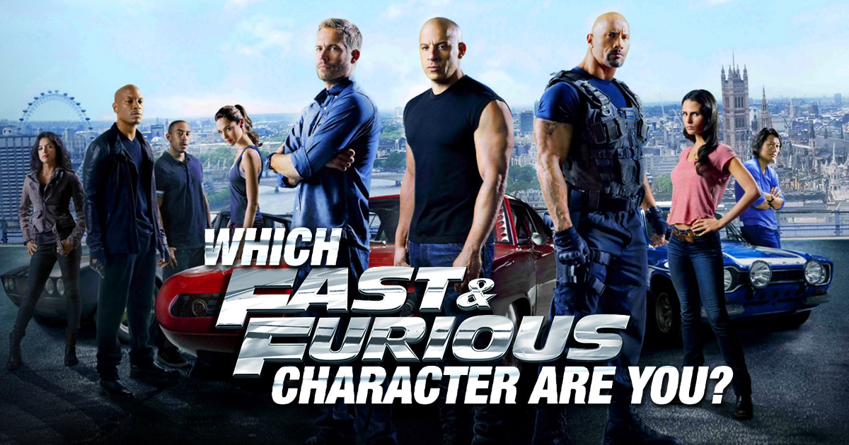 Photo of Which Fast and Furious Character Are You?