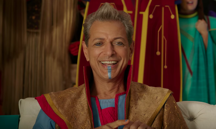 The Shocking Reason Why The Grandmaster From Ragnarok Appeared In GOTG Vol. 2