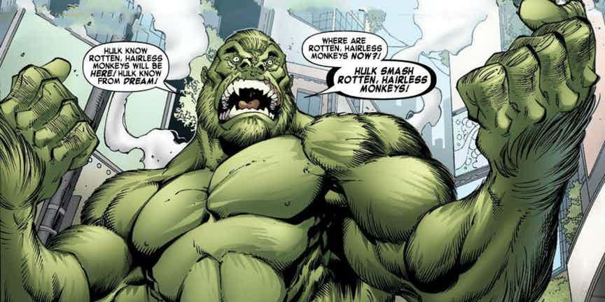 Versions of The Hulk