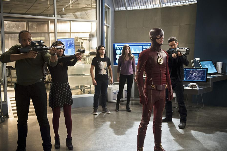 team flash in flash season 4