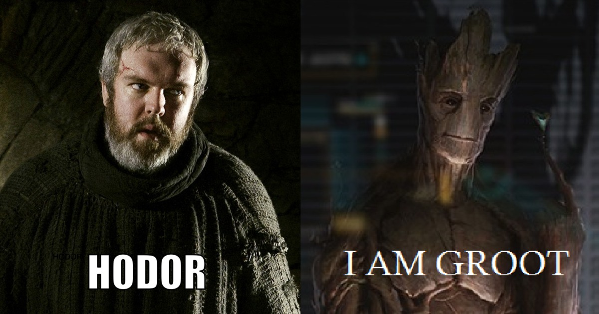 "Photo of 7 ""Oh so Sweet"" Memes on Groot And Hodor That Will Make Your Day"