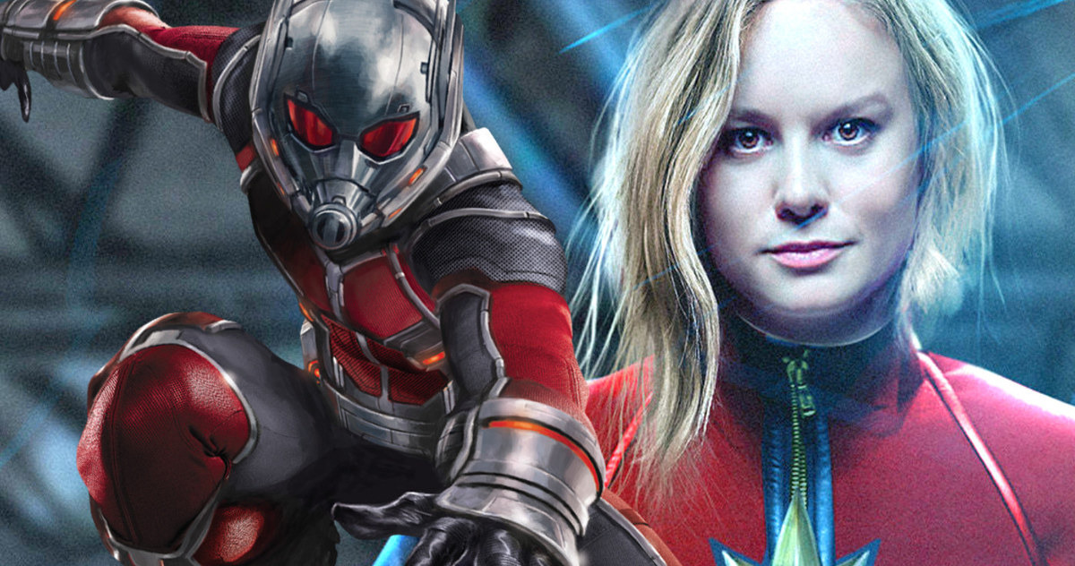 Photo of The Stunning Connection Between Captain Marvel And Ant-Man Has Been REVEALED