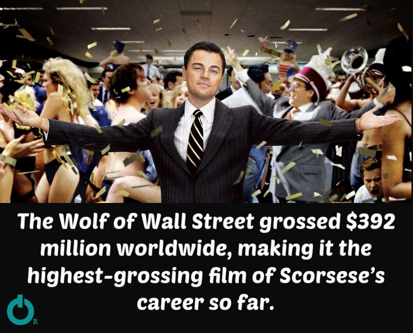 surprising facts about the movie The Wolf of Wall Street You Never Knew