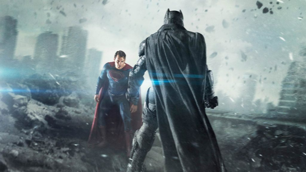 Batman vs Black Superman