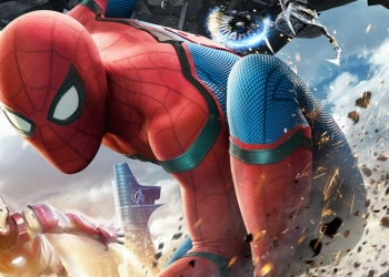Spiderman's new suit in Spiderman Homecoming