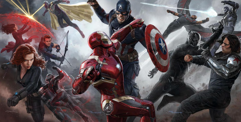 fight scenes avengers