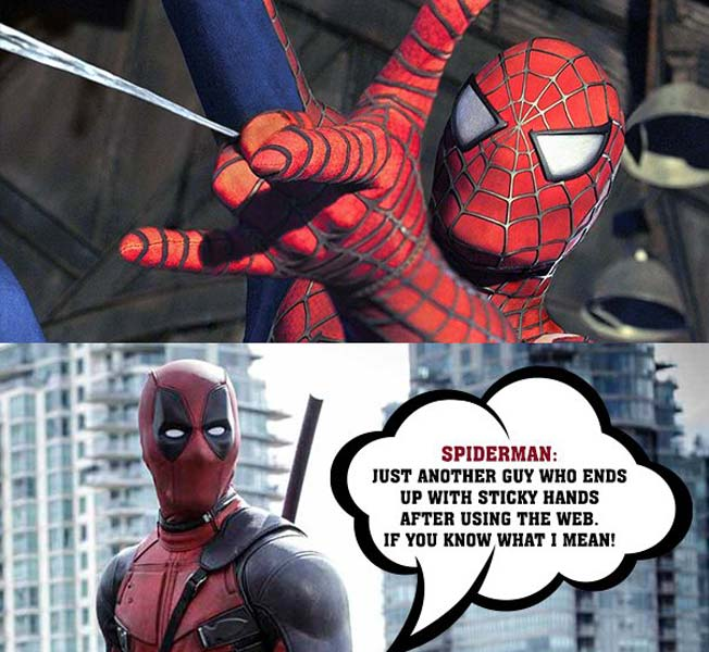 deadpool vs spiderman 2 17 memes on spidey pool that will make you laugh out loud