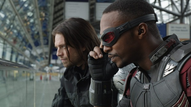 Winter Soldier & Falcon TV Series Disney Play