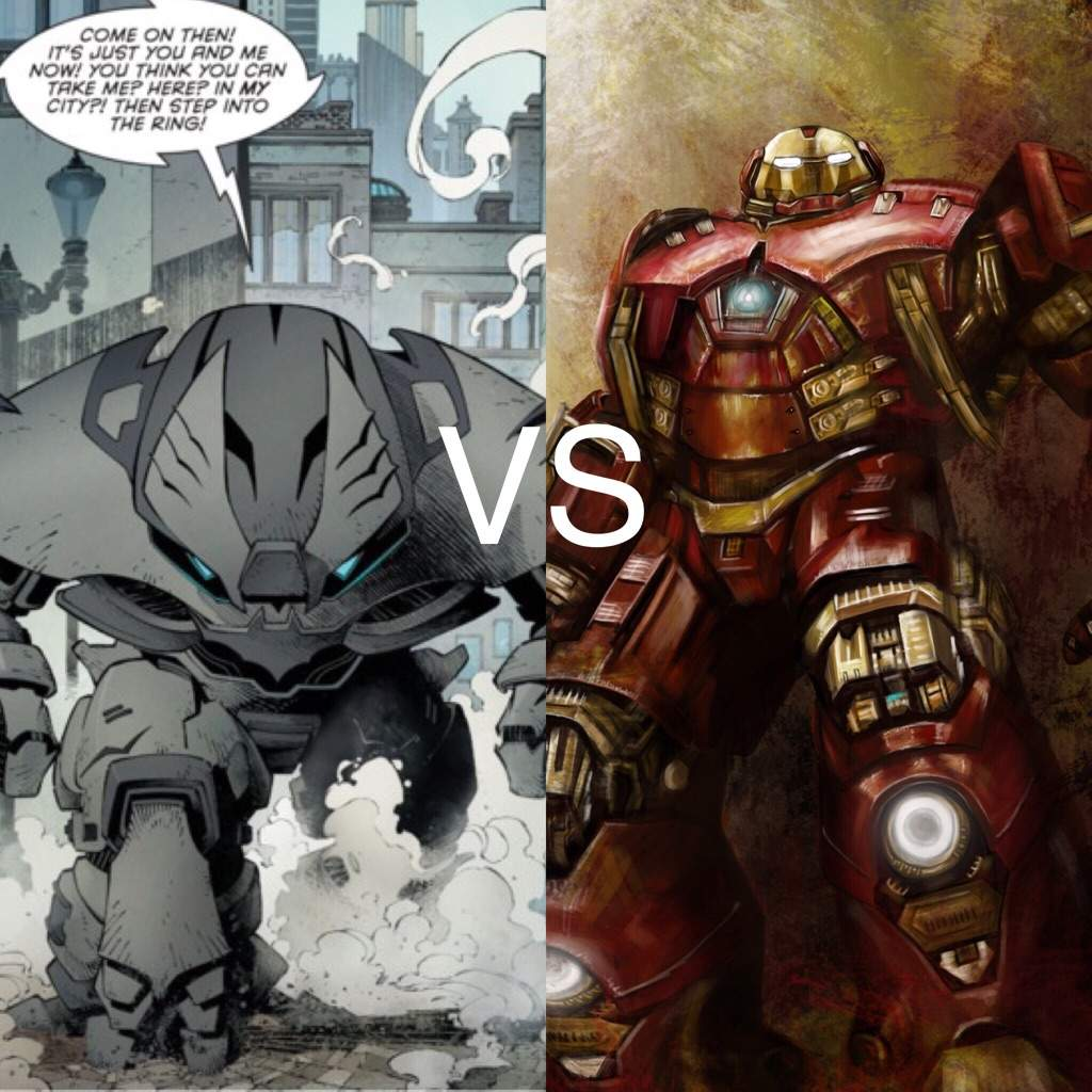 Hulkbuster vs Justice Buster