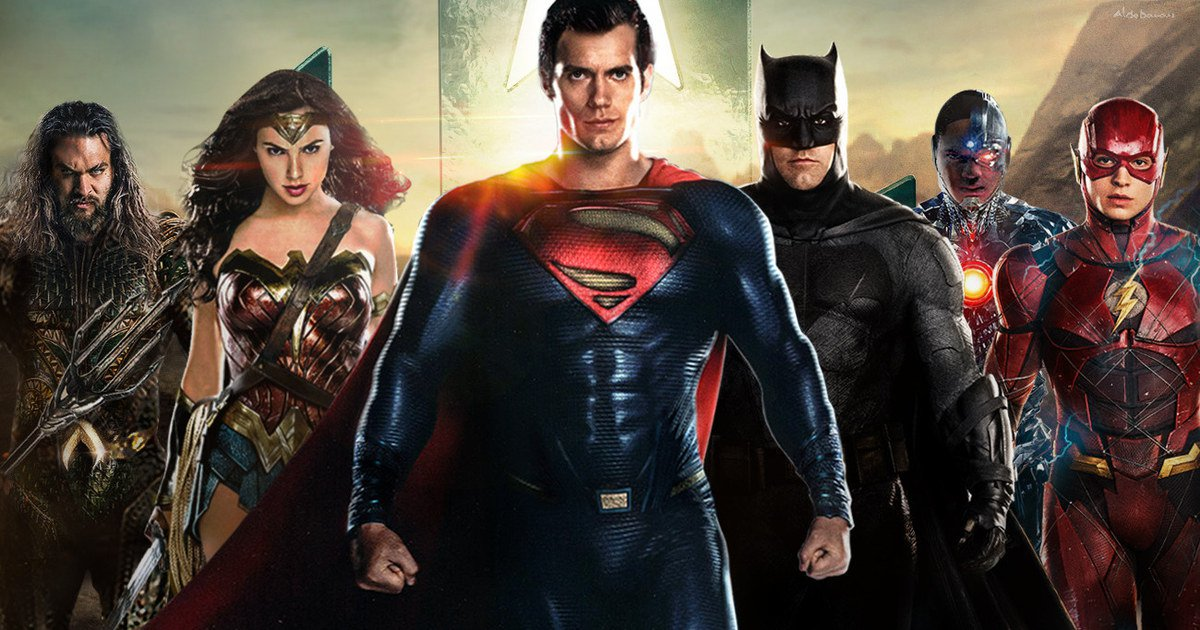 Photo of Justice League New Poster Features Man of Steel And He Looks Amazing