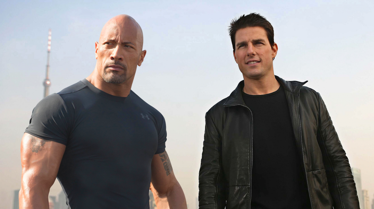 Photo of Will Dwayne Johnson Join Tom Cruise In Dark Universe?
