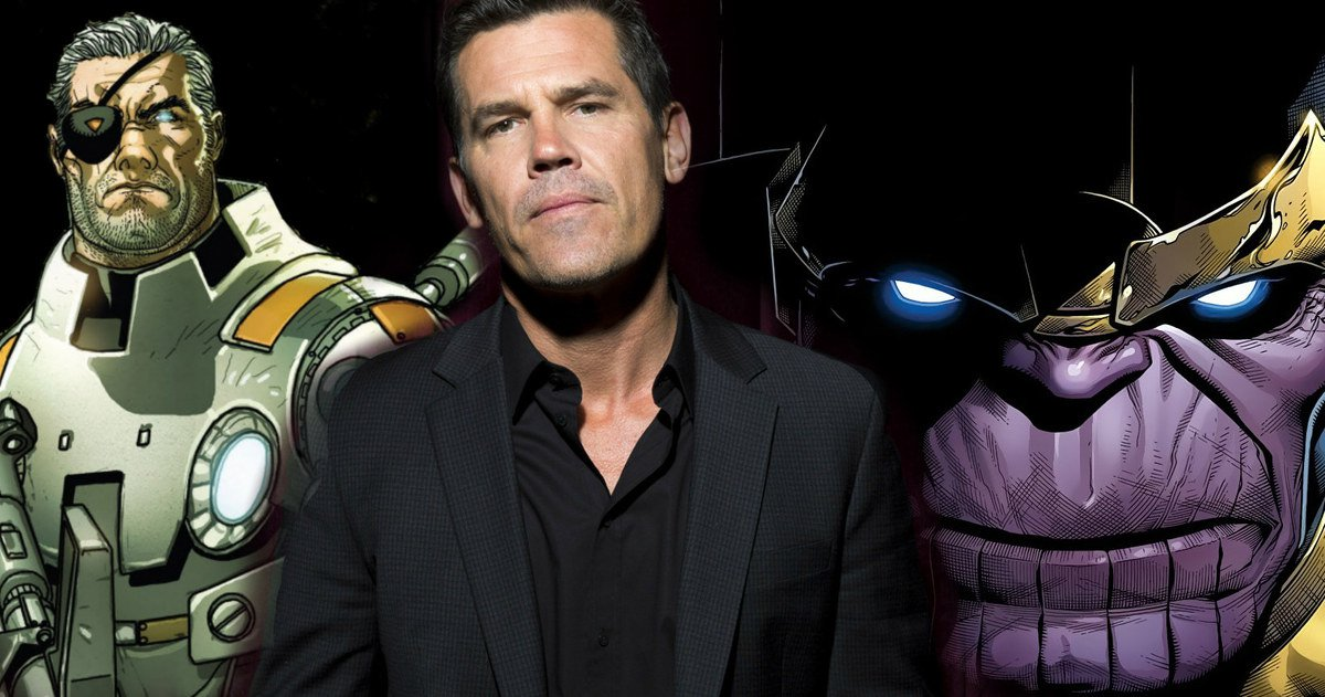 Photo of Marvel Is Totally Cool With Josh Brolin Playing Both Thanos And Cable